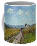 June Morning, View Over The Hills Over Pontoise, 1873 Coffee Mug