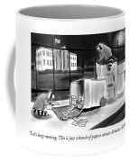Just A Bunch Of Papers Coffee Mug