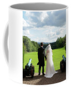 Just Married Looking To The Future Coffee Mug