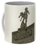 Kallison Cowboy Still Stands In San Antonio Coffee Mug