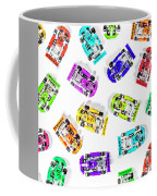 Karting Patterns Coffee Mug