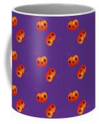 Kawaii Pumpkin Purple Coffee Mug