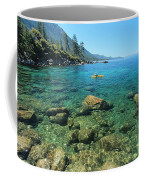 Kayaker's Bliss  Coffee Mug by Sean Sarsfield