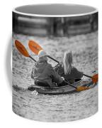 Kayaking Along The Magothy Coffee Mug