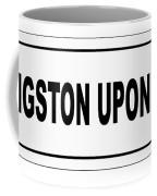 Kingston Upon Hull City Nameplate Coffee Mug
