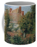 Kitchen Garden In Eragny, Afternoon, 1901 Coffee Mug