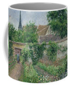 Kitchen Garden, Overcast Morning, Eragny, 1891  Coffee Mug