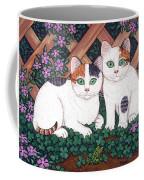 Kittens And Clover Coffee Mug