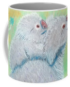 Koala With Baby - Pastel Wildlife Painting Coffee Mug