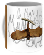 L Is For Little Red Flying Fox Coffee Mug