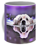 Labrador Swimming Coffee Mug