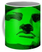 Lady Liberty In Green Coffee Mug