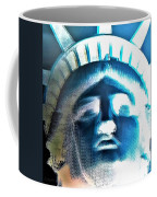 Lady Liberty In Negative Coffee Mug