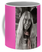 Lady With A Scarf Coffee Mug by Ron Cline