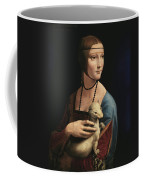Lady With An Ermine, 1489 Coffee Mug