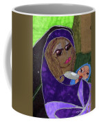 Lady With Child Coffee Mug