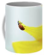 Ladybug And Sunflower Coffee Mug