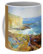 Laguna Rocks Low Tide 1916 Coffee Mug