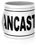 Lancaster City Nameplate Coffee Mug