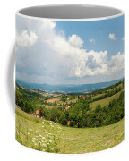 Landscape With Orchards Coffee Mug