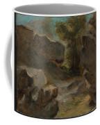 Landscape With Rocks  Augerville  Coffee Mug