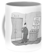 Last Chance To Read The Book Coffee Mug
