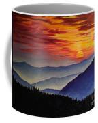 Laurens Sunset And Mountains Coffee Mug