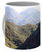 Layers Of A Mt. View Coffee Mug