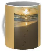 Leading To The Light Coastal Sunrise Coffee Mug