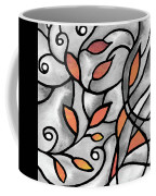 Leaves And Curves Art Nouveau Style Xii Coffee Mug