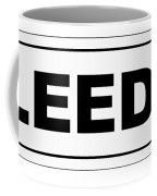 Leeds City Nameplate Coffee Mug