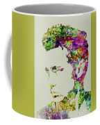 Legendary James Dean Watercolor Coffee Mug