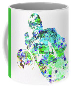Legendary Louis Armstrong Watercolor  Coffee Mug