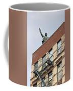 Lenin Statue In East Village N Y C Coffee Mug
