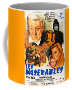 Les Miserables 1958 French Movie Classic Coffee Mug