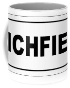 Lichfield City Nameplate Coffee Mug