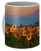 Light Of The Sunflowers Coffee Mug by John De Bord