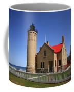 Lighthouse - Mackinac Point Michigan Coffee Mug