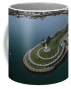 Lighthouse On The Coast, Long Beach Coffee Mug