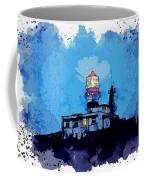 Lighthouse, Watercolor, C2019, By Adam Asar - 19 Coffee Mug
