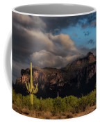 Light Play On The Superstitions  Coffee Mug