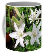 Lily White Coffee Mug