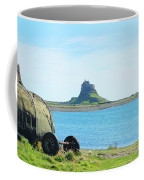 Lindisfarne Castle And Bay Coffee Mug