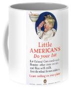 Little Americans Do Your Bit Coffee Mug