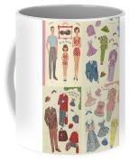 Little Golden Book Paper Doll Sees America Coffee Mug