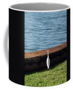 Little White Egret Egretta Garzetta Coffee Mug