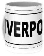 Liverpool City Nameplate Coffee Mug