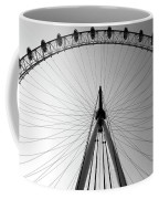 London_eye_i Coffee Mug by Mark Shoolery