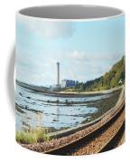 Longgannet Power Station And Railway Coffee Mug