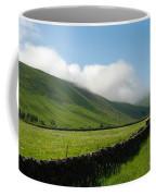 looking down Ettrick valley in Selkirkshire in summer Coffee Mug